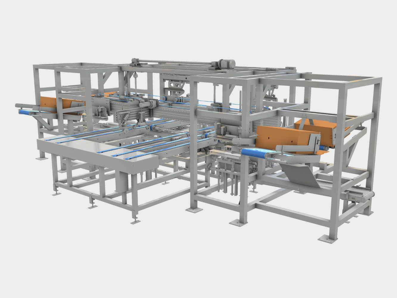 Tray Packer, Wrap-Around Packer