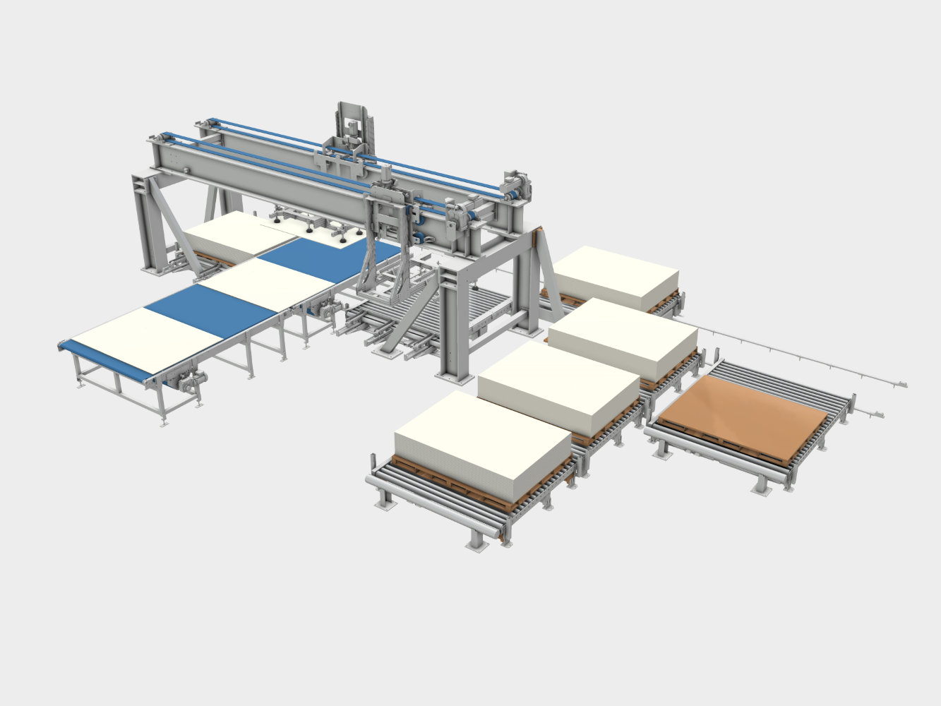 conveying system machines